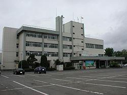 二戸市役所(2008年(平成20年)5月撮影)