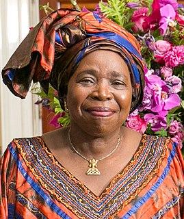 Nkosazana Dlamini-Zuma South African politician