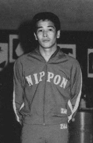 Nobuhiko Hasegawa - Hasegawa at the 1966 Asian Games