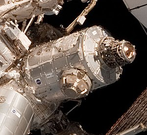 Unity (ISS module) - Node 3 (Tranquility) in space