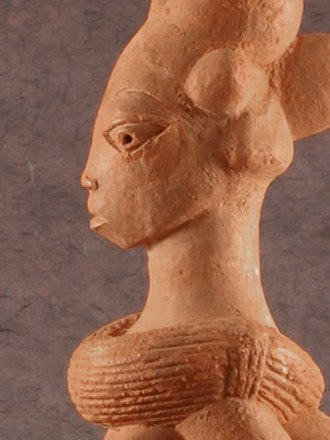 Nok culture - Female Statue 48 cm tall Age: 900 to 1,500 years