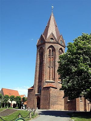 Church of Our Lady, Assens - The tower