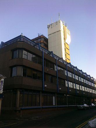 BBC Radio Norfolk - Norfolk Tower on Surrey Street in Norwich. BBC Radio Norfolk was based on its ground floor from 1980 until 2003.