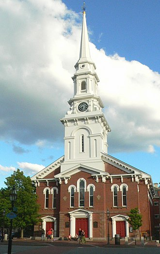 Congregationalism in the United States - North Church is an historic Congregational church in Portsmouth, New Hampshire. The current building dates to 1854.
