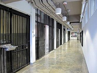 North Kowloon Magistracy - Jail inside Magistracy