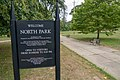 North Park, Fall River Massachusetts welcome sign.jpg