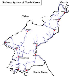 Rail transport in North Korea