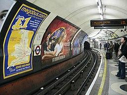 Northbound Bakerloo Line platform at Waterloo 03