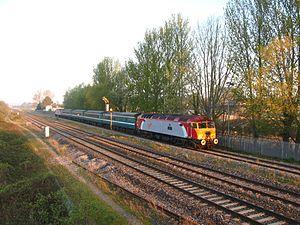 Norton Fitzwarren railway station - Image: Norton Fitzwarren 57309