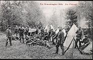 Norwegian Army guarding Swedish border 1905.jpg