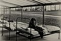 Nottingham; a girl with pneumonia nursed on a terrace open Wellcome V0030964.jpg