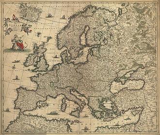 Frederik de Wit - Image: Nova et accurata totius Europæ descriptio