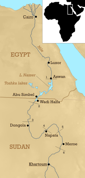 Nubia - The Nubia region today