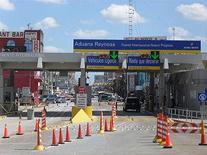 Nuevo Progreso, Río Bravo, Tamaulipas - Entrance to Nuevo Progreso