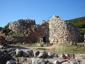Alghero - Nuraghe Palmavera near Alghero.