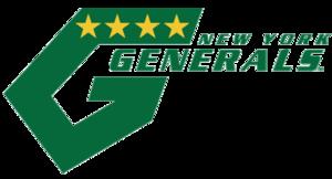 New York Generals - Image: Ny generals logo
