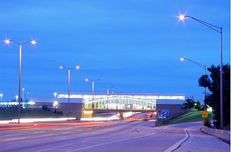 Illinois Tollway oasis - The former O'Hare Oasis
