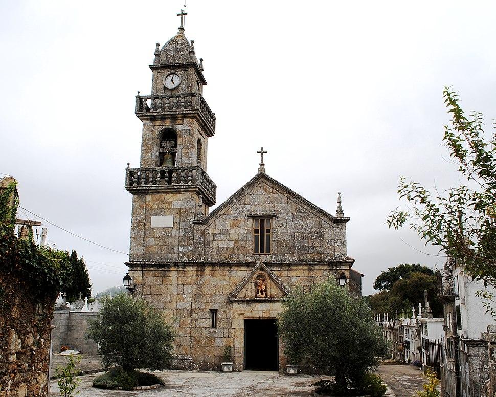 O Rosal, S. Miguel de Tabagón, igrexa