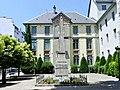 Obélisque devant le lycée Vaugelas de Chambéry (été 2018).JPG
