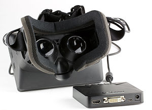Oculus Rift - Rear view and control box