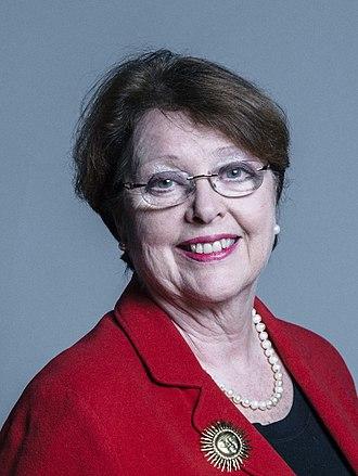 Glenys Thornton, Baroness Thornton - Image: Official portrait of Baroness Thornton crop 2