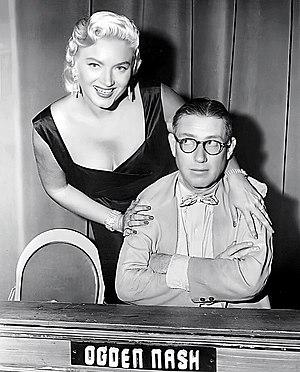 Masquerade Party - Panelist Ogden Nash and Dagmar, 1955