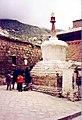 Old Chorten at Sera, 1993.jpg