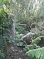 Old gate by the path, Mount Whistle, Tregonning Hill - geograph.org.uk - 233885.jpg