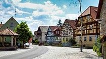 Old village centre Neubrunn-Kirchlauter 2.JPG