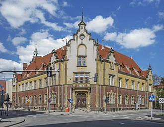 Oleśnica - Main post office