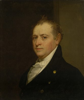 United States Secretary of the Treasury - Image: Oliver Wolcott Jr by Gilbert Stuart circa 1820