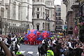 Olympic and Paralympic Lion Heads near Aldwych.JPG