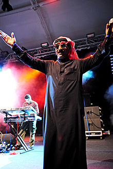 Omar Souleyman performing at Perth International Arts Festival in 2011