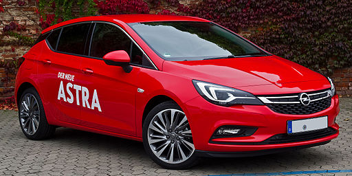 Opel Nuova Astra