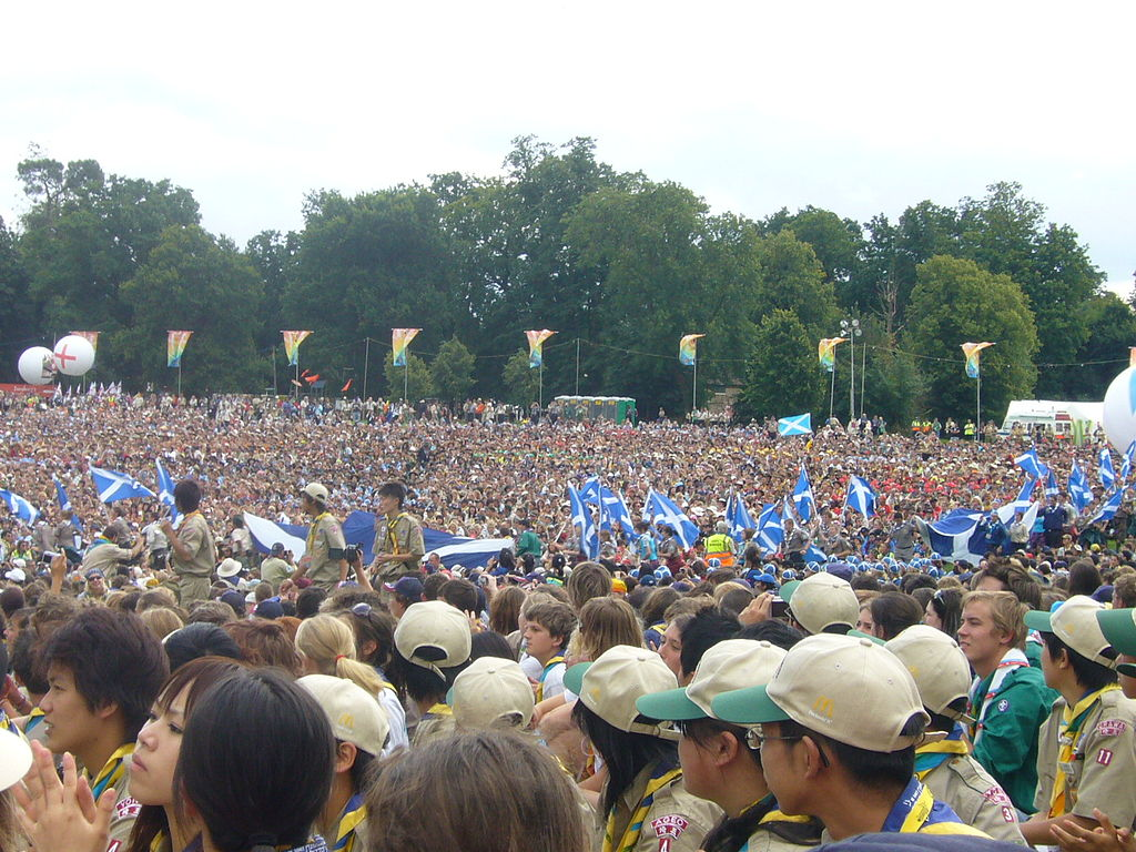 File Opening Ceremony Of The 21st World Scout Jamboree At