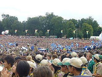 21st World Scout Jamboree - Opening ceremony at Hylands Park