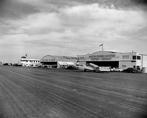 John Wayne Airport - Orange County Airport, 1950s