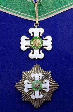 Order of Military Merit 2nd class insignias (Brazil) - Tallinn Museum of Orders.jpg