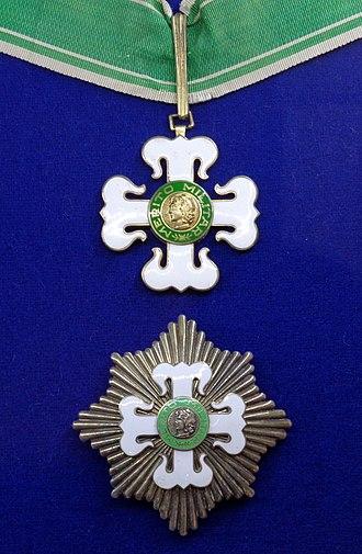 Order of Military Merit (Brazil) - Grand officer insignia
