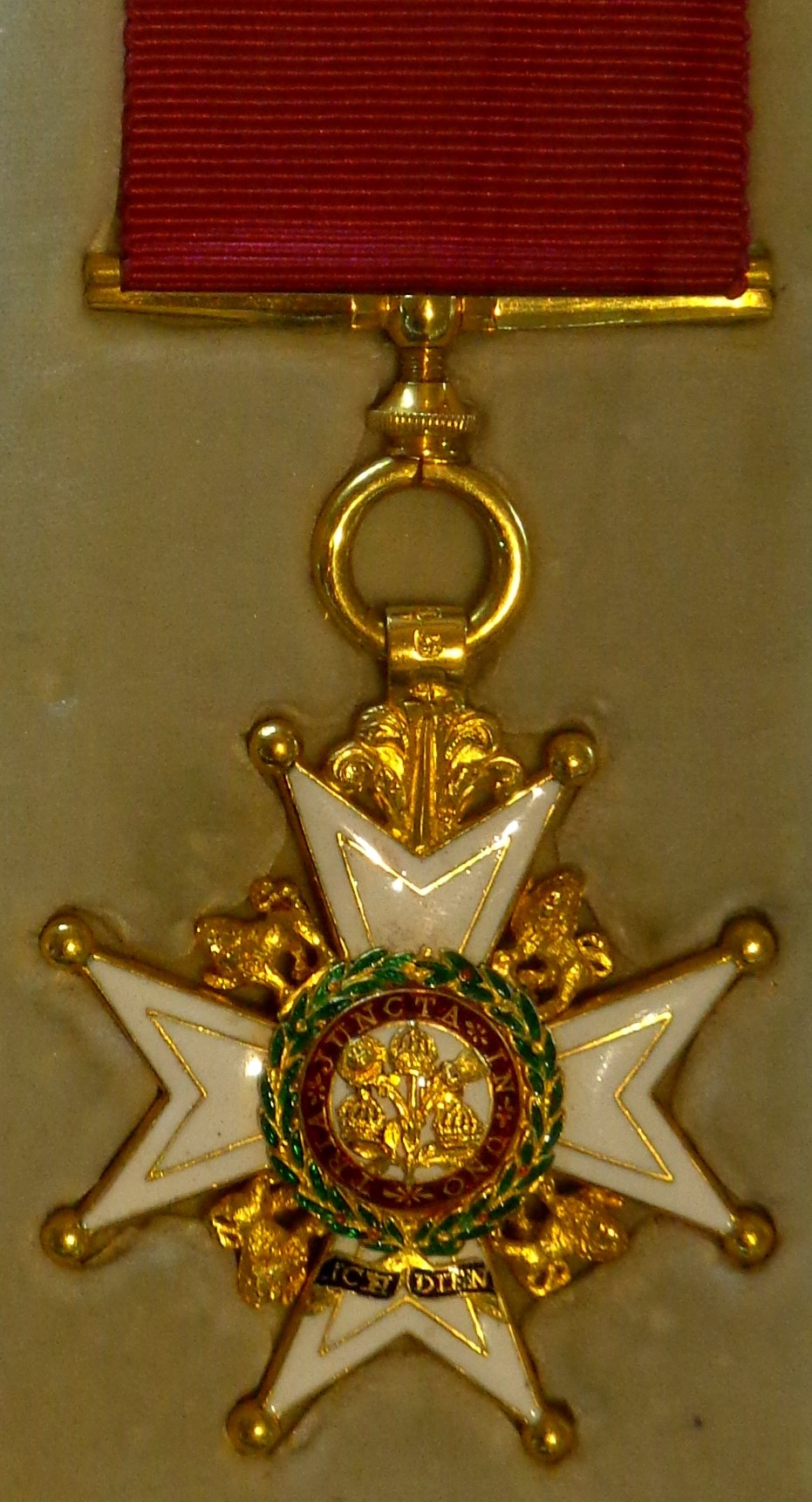 Order of the Bath companion military division badge (United Kingdom) - Tallinn Museum of Orders