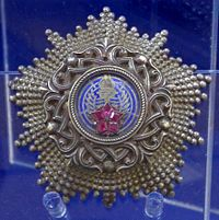 Order of the Yugoslav Star 2nd class star (Yugoslavia) - Tallinn Museum of Orders.jpg