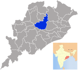 Location of Angul