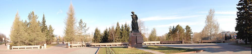 """Памятник """"Орлёнок"""" на Алом поле"""