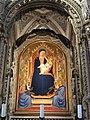 Orsanmichele, interno, tabernacolo dell'orcagna 10 madonna di bernardo daddi.JPG