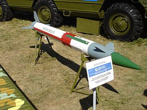9K33 Osa - The 9M33M3 missile