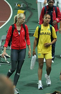 Keila Costa Brazilian athlete