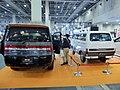 Osaka Auto Messe 2018 (440) - Mitsubishi DELICA D:5 ACTIVE GEAR (LDA-CV1W-LLHFZ3) & DELICA 75 VAN mid-year 1973.jpg
