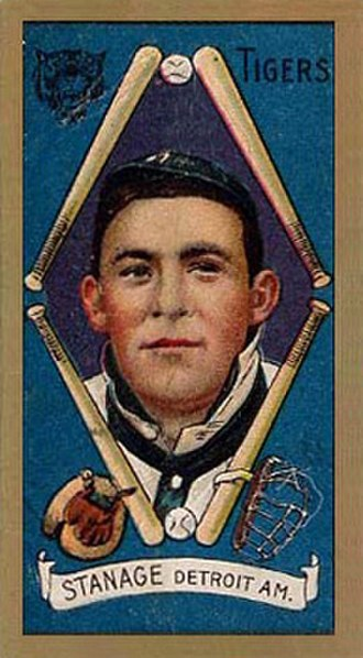 Oscar Stanage - Stanage in 1911