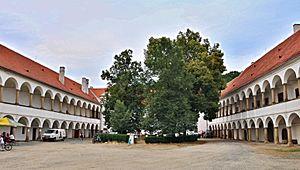 Carlo Abbate - Chateau Oslavany, today South Moravian Region in the Czech Republic