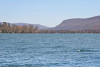 Otisco Lake - Otisco Lake, looking south.